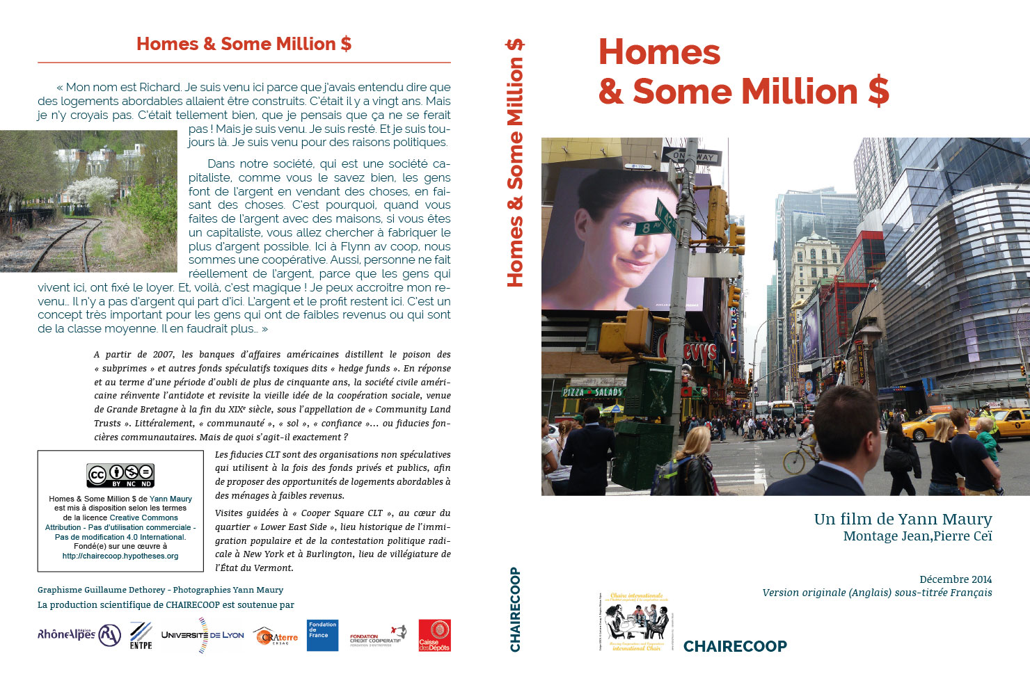 Jaquette du dvd du film Home & Some Millions